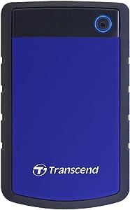 Transcend 4TB USB 3.1 Gen 1 StoreJet 25H3B SJ25H3B Rugged External Hard Drive TS4TSJ25H3B