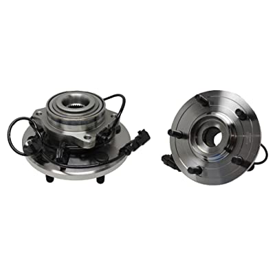 Detroit Axle Both (2) New Rear Driver & Passenger Side Complete Wheel Hub & Bearing Assembly Replacement for 2007-2008 Pacifica: Automotive