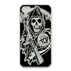 iphone4 4s Phone Case White Sons Of Anarchy HUX311537