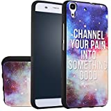 MOONCASE Huawei Y6 Case, [Universe Galaxy] 3D Embossed Painting Series Protective Case Cover for Huawei Y6 / Honor 4A Anti-Slip Soft TPU Gel Case