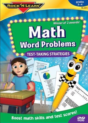 Math Word Problems DVD by Rock 'N Learn (Math Word Problems Dvd)