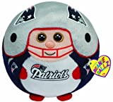 Ty Beanie Ballz New England Patriots – Medium, Baby & Kids Zone