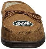 New York Jets NFL Mens Team Logo Moccasin Slippers