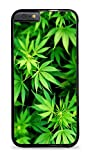 Marajuana Plants Design Black 2-in-1 Protective Case for iPhone 6 (4.7)