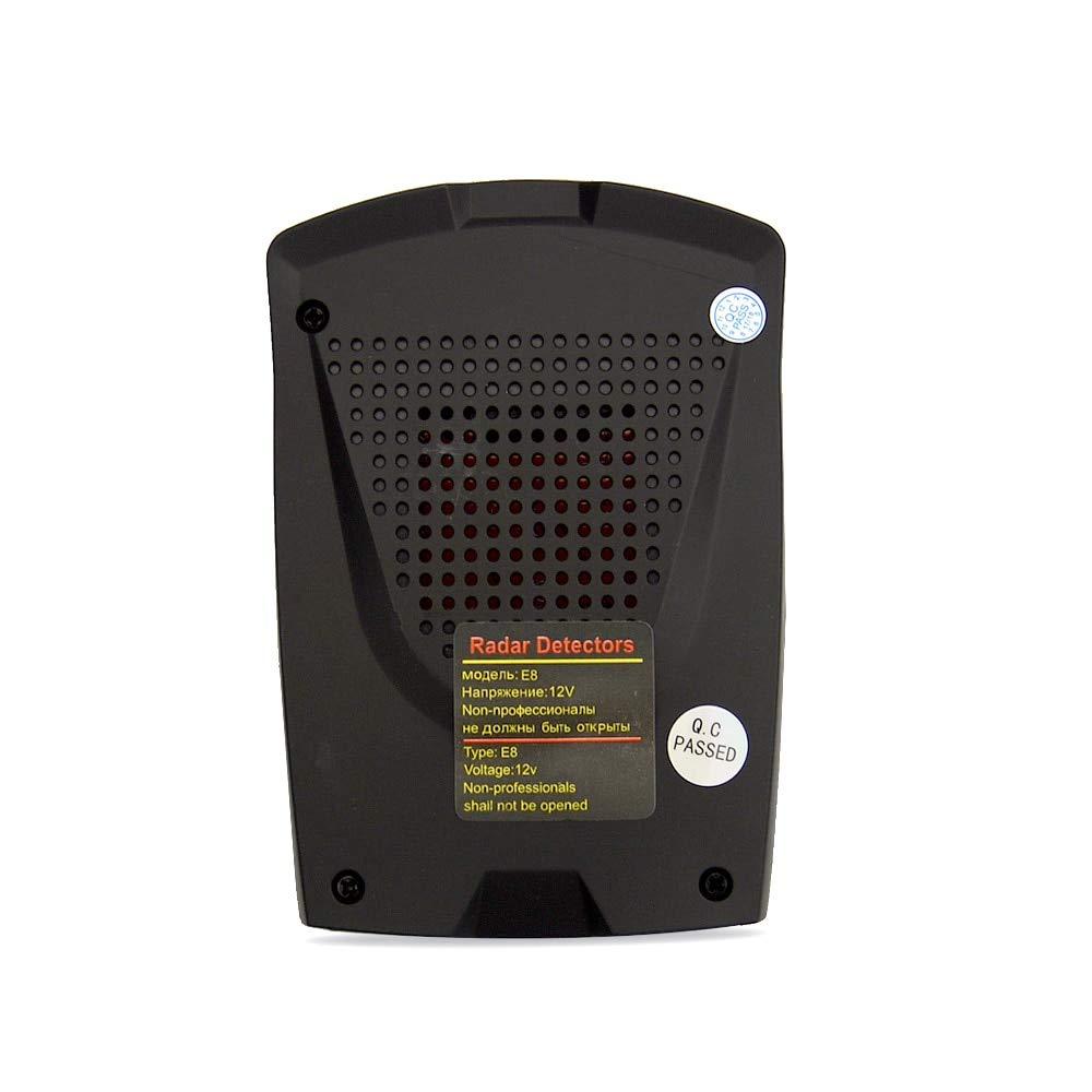 Amazon.com: E8 : Okeytech E6/E8 Nuevo Estilo de coche Detector de Radar 360 grados pantalla LED alerta Anti Detectores de Radar Rusia/Inglés voz: Home & ...