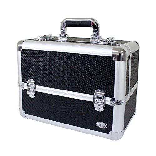 jacki-design-aluminum-professional-makeup-train-case-w-adjustable-dividers-bsb14120-black