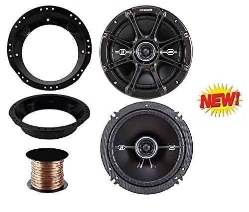 (98-13 Harley Speaker Bundle: 2X of Kicker 6.5