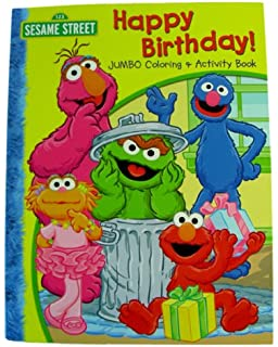 Amazon.com: 1 SESAME STREET HAPPY BIRTHDAY COLORING BOOK: Toys & Games