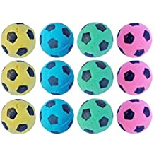 PetFavorites trade; Foam Soccer Balls Cat Toys - Pack of 12
