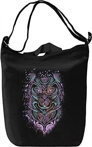 Ethnic Animal Borsa Giornaliera Canvas Canvas Day Bag| 100% Premium Cotton Canvas| DTG Printing|