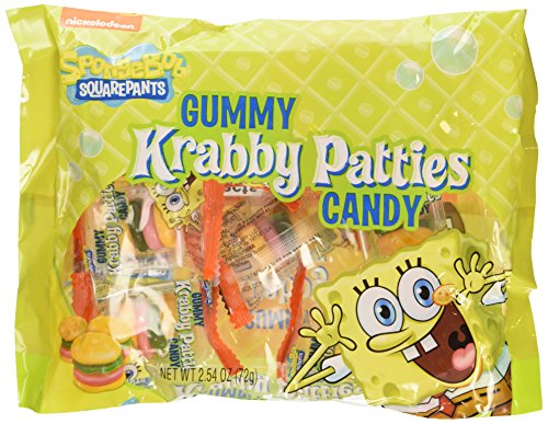 Nickelodeon Spongebob Squarepants Gummy Krabby Patties Candy]()