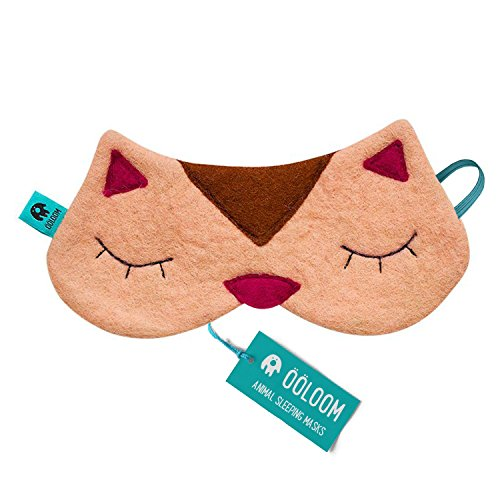 (Cute Kitty Sleeping Mask - Beautifully Designed Gifts for Women & Men, Soft & Comfortable Blindfold for Total Blackout & Light Blocking, Best Eye Cover & Ultimate Sleep Aid for Travel & Night Sleep)
