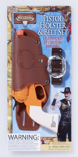 Set Belt And Holster (Single Toy Gun Holster Set)