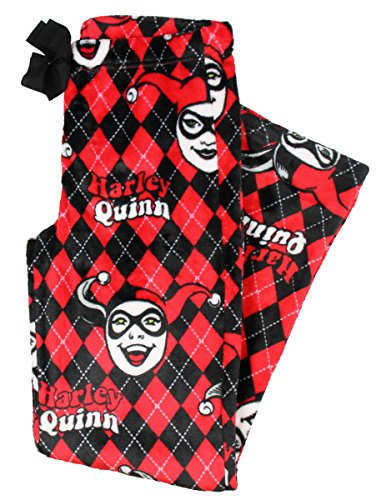 DC Comics Harley Quinn Fleece Pajama Pants