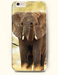 OFFIT iPhone 6 Plus Case 5.5 Inches An Elephant Seems Very Happy