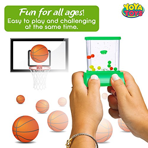 Handheld Water Game By YoYa Toys Toss And A Basketball