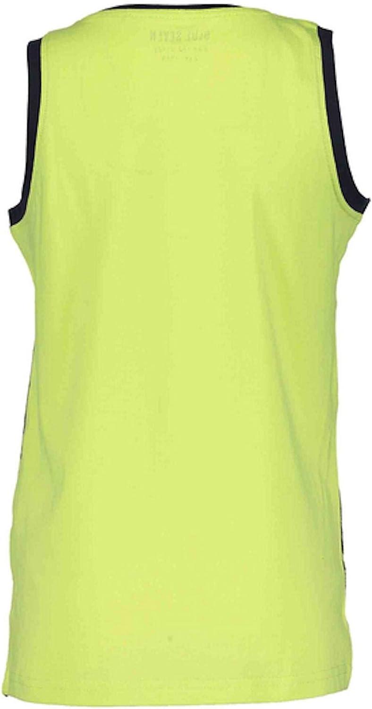 Blue Seven Jungen Top Tanktop Tr/ägershirt T-Shirt Apfel gelb