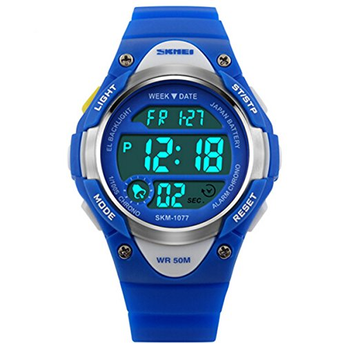 Wdnba Kids Outdoor Sports Children's Waterproof Wrist Watch Dinosaur 3D Watches for Boy Girl