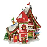 Department 56 North Pole Sugar Mountain Lodge Village Lit Building, Multicolored