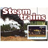 Trains and Steam Engines mint and unmounted stamp sheetlet for Collectors / fv 200UM / Ivory Coast / 2003