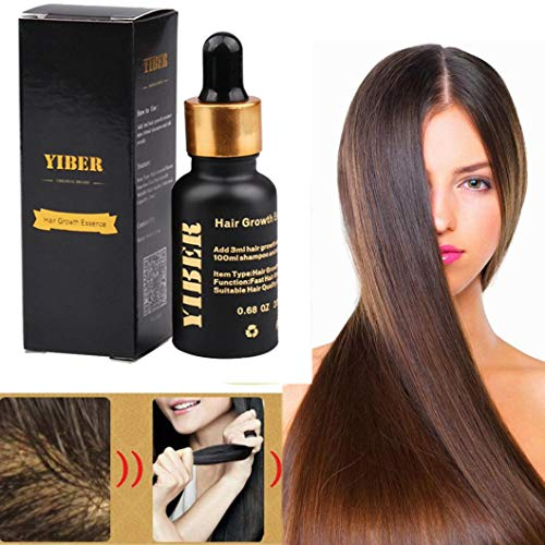 - 1pcs New Creative Most Effective Asia's No.1 Hair Growth Serum Oil 100% Natural Extract (Multicolor)