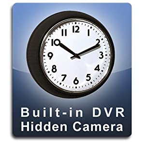 PalmVID DVR PRO Wall Clock Hidden Camera with Built-in DVR
