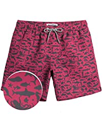 7c218146dc Mens Boys Short Swim Trunks Bright Colored Swim Suits Shorts Bathing Suits  for Vacation