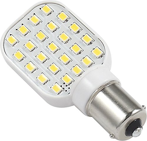 1156 Light Bulb: Amazon.com: Gold Stars 11568305 Natural White Replacement LED Bulb (1156  Base 250 LUM 12 or 24v): Automotive,Lighting