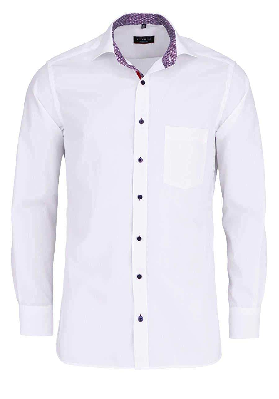 Eterna Long Sleeve Shirt Modern FIT Poplin Uni