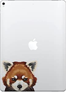 FINCIBO 5 x 5 inch Red Panda Removable Vinyl Decal Stickers for iPad MacBook Laptop (Or Any Flat Surface)