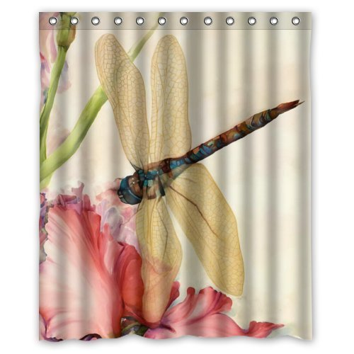 Beautiful Dragonfly Shower Curtain