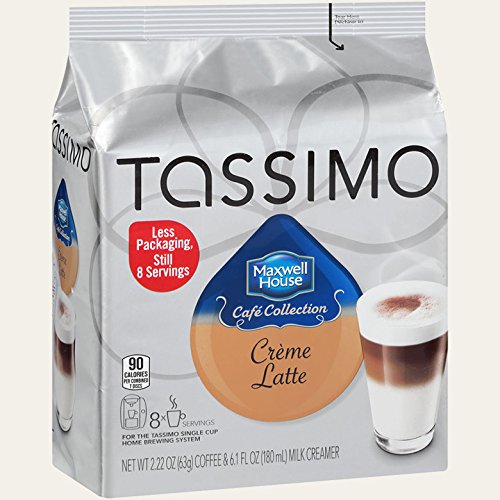 Tassimo - Maxwell House - Creme Latte (Pack 8)