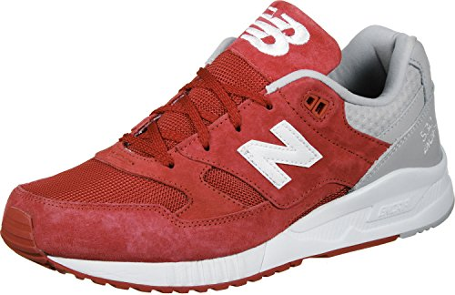 New Balance Herren M530 Sneakers rot grau weiß