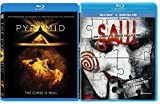 Saw: The Complete Movie Collection + The Pyramid Blu Ray Movie Double Feature Horror & Suspense Possession & Killing