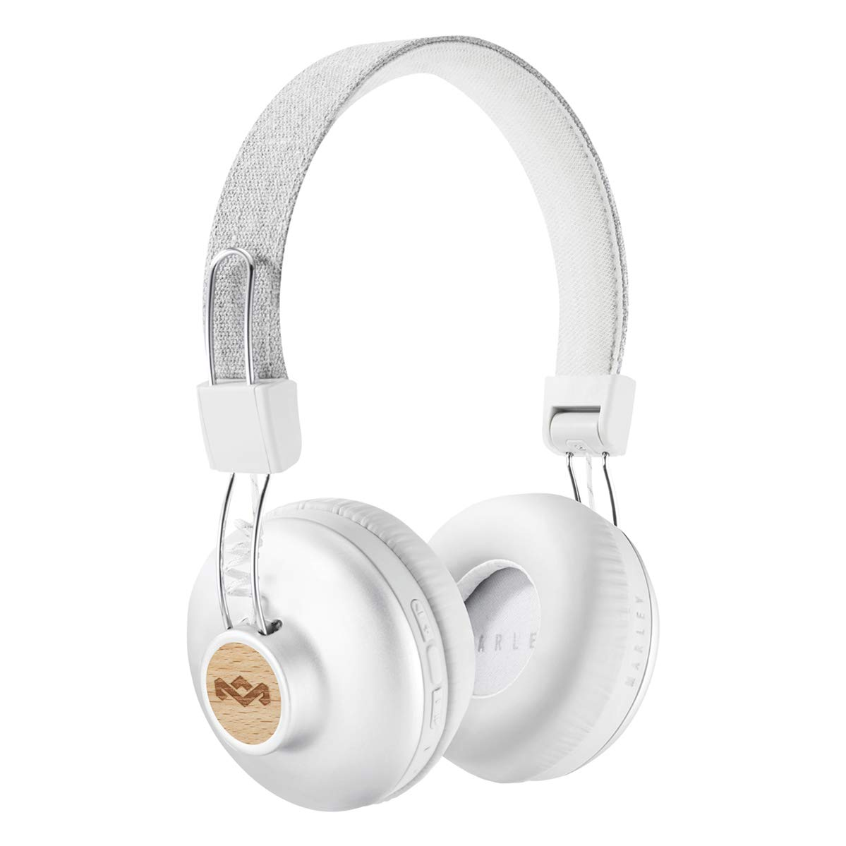5628954bdd2 Amazon.com: House of Marley Positive Vibration 2 Wireless Bluetooth On Ear  Headphones: Electronics