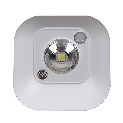 Starnearby LED inalámbrico luz de noche sensor de movimiento activado luces de pared lámpara de emergencia