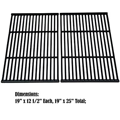 Direct store Parts DC122 Porcelain Cast Iron Cooking grid Replacement Charbroil, Brinkmann, Broil-Mate, Charmglow, Grill Chef , Grill Pro, Grill Zone, Sterling, Turbo Gas Grill