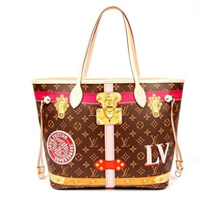 6e6fcd9ebbb Amazon.com: Louis Vuitton Limited Edition Trunk Neverfull: Shoes