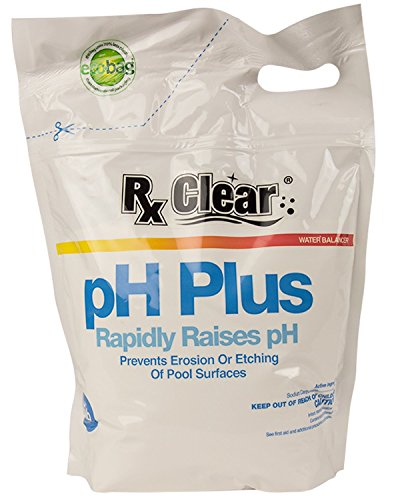 Rx Clear Swimming Pool pH Plus | Rapid Release Increaser | 10 Lbs Bag