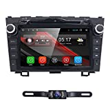 8 inch Android 6.0 Car GPS DVD Player for Honda CRV CR-V 2007 2008 2009 2010 2011 Support Bluetooth 4.0 Easy Connect Mirroring WiFi