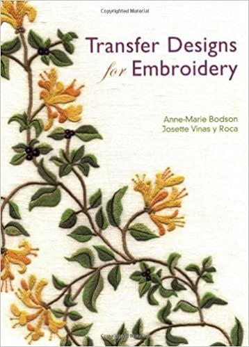 Transfer Designs For Embroidery Anne Marie Bodson Josette Vinas Y