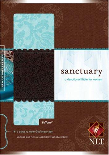 Read Online Sanctuary: A Devotional Bible for Women, New Living Translation PDF