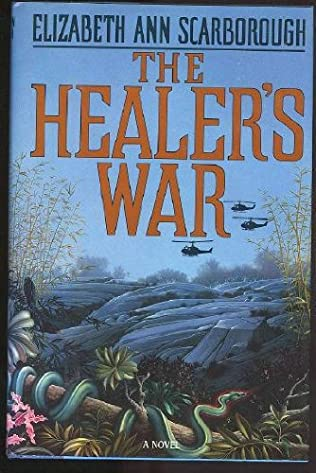 book cover of The Healer\'s War