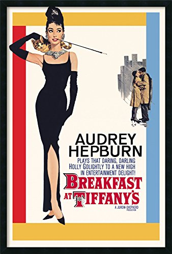 Framed Art Print, 'Breakfast at Tiffany's': Outer Size 25 x ()