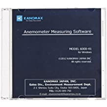 Kanomax 6000-41 Anemomaster Measuring Data Processing Software for Model 6501 Climomaster Multi Function Hot-Wire Anemometer