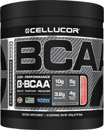 Cellucor COR-performance Saveur Pastèque B-BCAA | BCAA plus haute qualité avec Bêta-Alanine | chaîne ramifiée acides aminés | Acides aminés essentiels