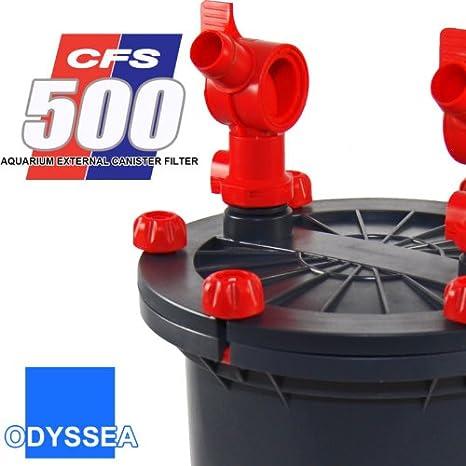 Shut Off Valves Canister Filter Cfs 500 700 Uv Fish & Aquariums