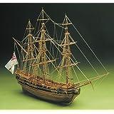 Mantua President English Frigate 1750 Period 1:60 Scale Wooden Model Ship Kit
