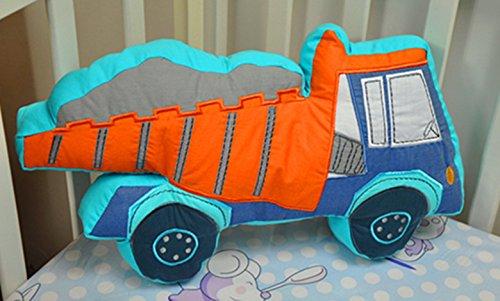 Auvo Throw Pillows, Trucks Cars Dinosaur Kids Decorative Pillows (1)