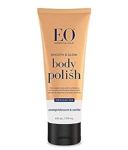 Eo, Body Polish Orange Blossom & Vanilla, 6 Ounce